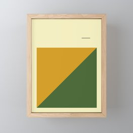 Simple and Modern Framed Mini Art Print