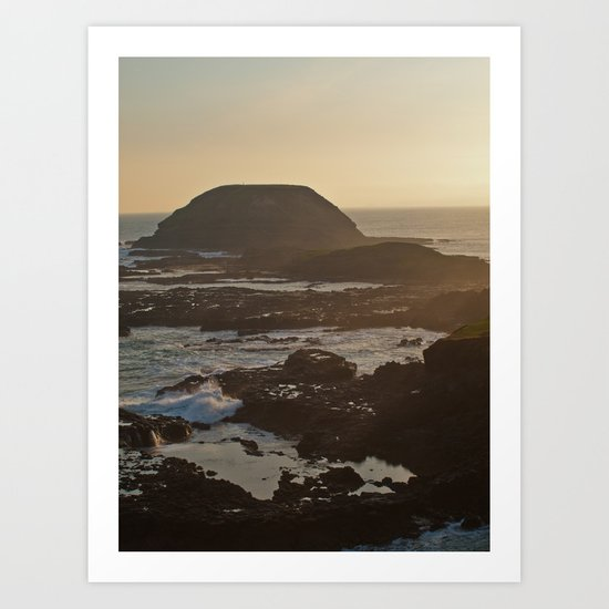 As the sea comes in... Art Print