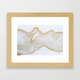 Bridger Gold Framed Art Print