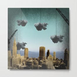 one cloud at a time Metal Print