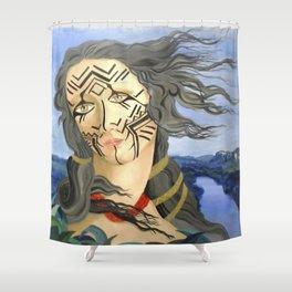 Venus from Amazonas Shower Curtain