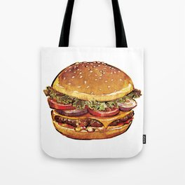 Just Burger Tote Bag
