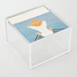 Summer Vacation I Acrylic Box