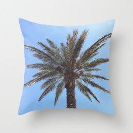 Palmy Throw Pillow