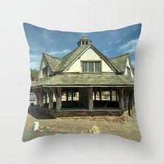 The Yarn Market Throw Pillow