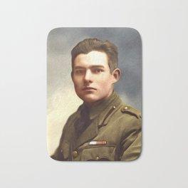 Ernest Hemingway, Writer Bath Mat