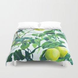Foliage I / Lemon Tree Duvet Cover