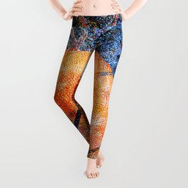 Basketball art vs vx 6 Leggings
