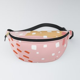 Abstract Pattern Mix Fanny Pack