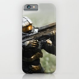 Covering Fire iPhone Case