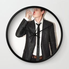 Well, that was a bloody bad Idea Wall Clock