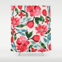 Ella - Tropical Beauty Shower Curtain