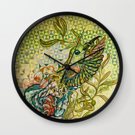 olive nation Wall Clock