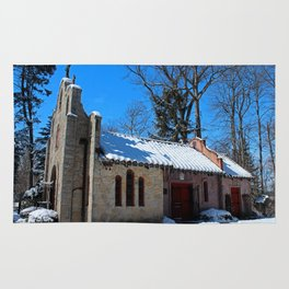 Portiuncula Chapel in Winter II Rug
