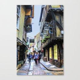 The Shambles, York Canvas Print