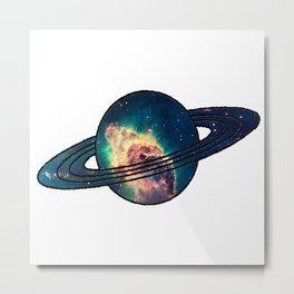 Saturn´s Space Metal Print