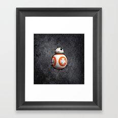 BB8 Cute Droid Framed Art Print