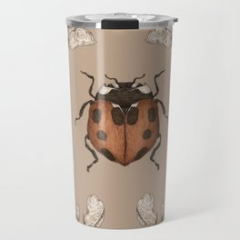 The Ladybug and Sweet Pea Travel Mug