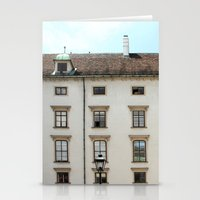 vienna Stationery Cards featuring Vienna  by Blake Hemm