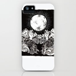 """Harvest Moon"" iPhone Case"