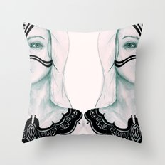 Sisters VI Throw Pillow
