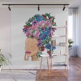 Exotic Beauty Wall Mural