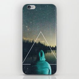 Alone in the Wildnerness iPhone Skin