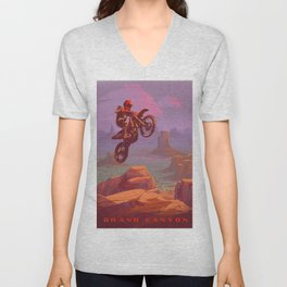 ReDaredevil Unisex V-Neck
