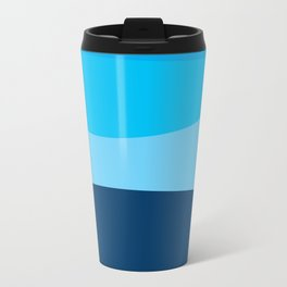 Blue view Travel Mug