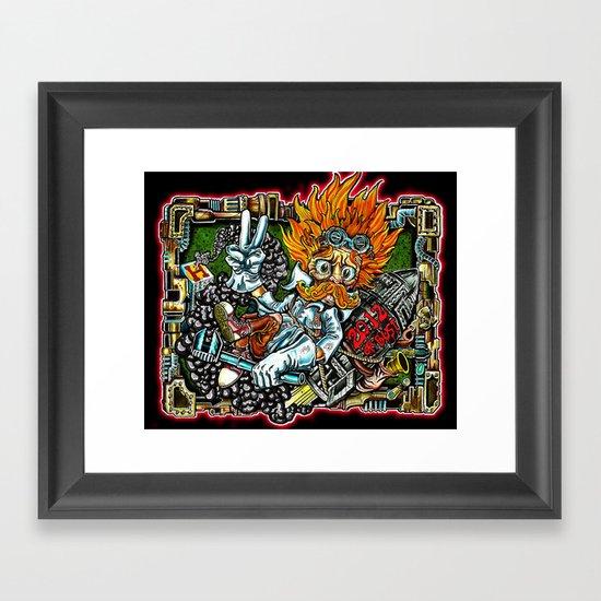 heimerdinger color variant Framed Art Print