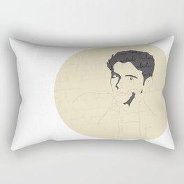 Federico García Lorca Rectangular Pillow