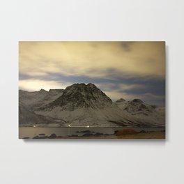 Norwegian mountains 1 Metal Print