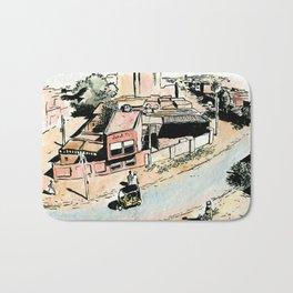 La rue - The street Bath Mat