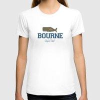 cape cod T-shirts featuring Bourne, Cape Cod by America Roadside