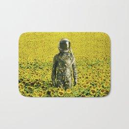 Stranded in the sunflower field Bath Mat