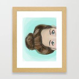 Bunhead Framed Art Print
