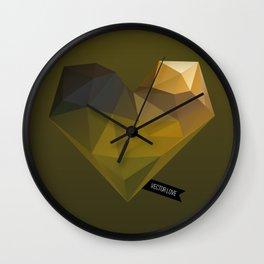 Vector Love 02 Wall Clock