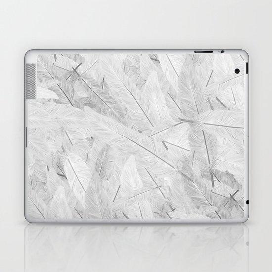 Feathered (Pattern). Laptop & iPad Skin