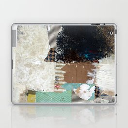 Another Vice Mixed Media Abstract Collage Art Laptop & iPad Skin