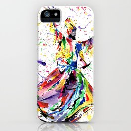 Whirling Dervish iPhone Case