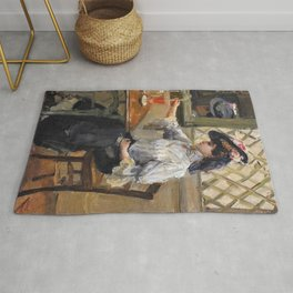 Isaac Lazarus Israels - In The Cafe - Digital Remastered Edition Rug