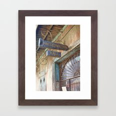 New Orleans Jazz Club Framed Art Print