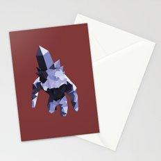 Crystal Golem Stationery Cards
