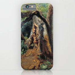 An Old Tree 1859 By Lev Lagorio   Reproduction   Russian Romanticism Painter iPhone Case