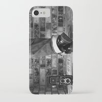 old school iPhone & iPod Cases featuring old school by Jennifer Townsend