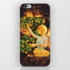 Space fruit iPhone & iPod Skin