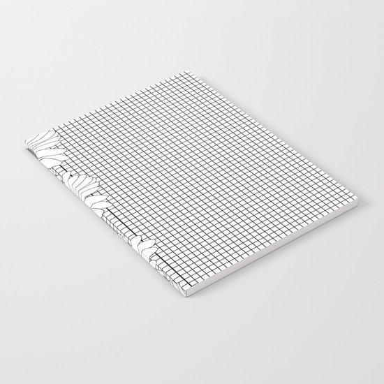 Daisy Grid on Side Notebook