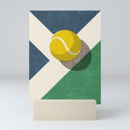BALLS / Tennis (Hard Court) Mini Art Print