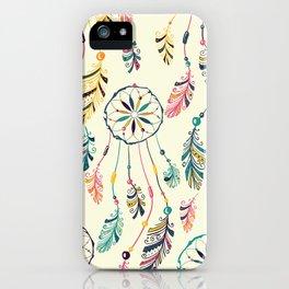 Boho Dreamcatcher Pattern iPhone Case
