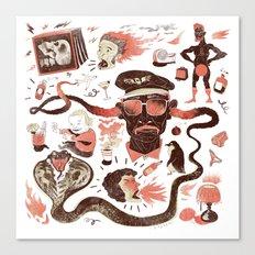 Crazy Travel Stories Canvas Print
